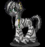 Zebra Patrick Poe [NoBG]