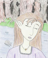 Lonely Elf by whimsicalfears