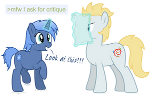 mfw I ask for critique by DJDavid98