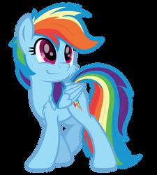 Tracing Pirill's sketch - Best pony being cute af by DJDavid98