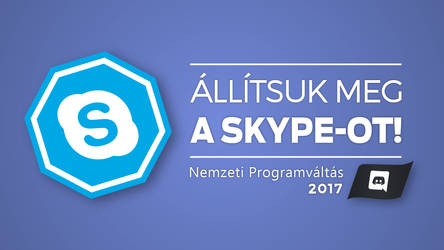 It's time to ditch Skype (Hungarian Poster Parody)
