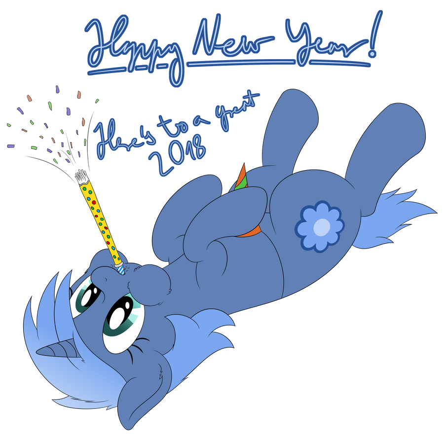 Happy New Year 2018 by DJDavid98