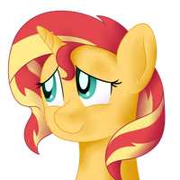 Practice Headshot ft. pony Sunset