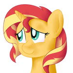 Practice Headshot ft. pony Sunset by DJDavid98