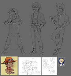 Onepiece doodle dump by JokerOpedia