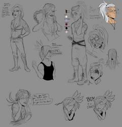 OC sketch dump by JokerOpedia