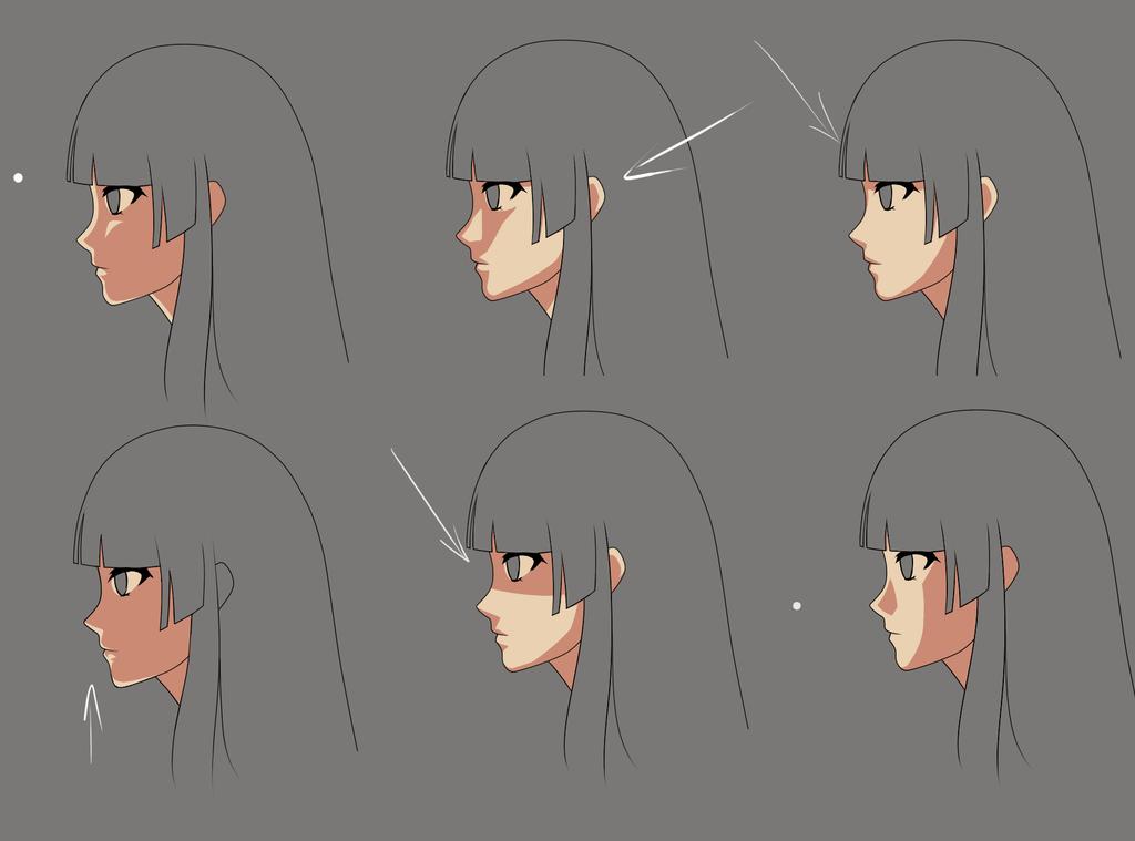 anime face shading practice2 by momodesuuu on deviantart
