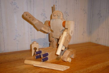 Wooden mech w.i.p.(3) by Tyr73