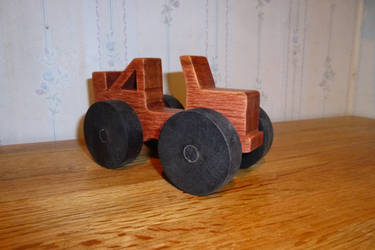 Simple wooden Jeep. by Tyr73