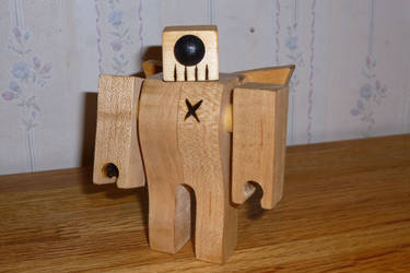 Simple little robot (evil version). by Tyr73