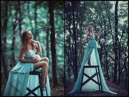 blue fairy by chervona