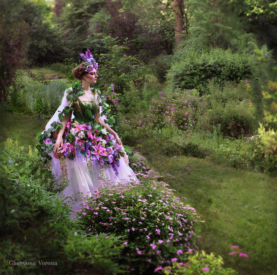 Her Majesty floral fairy by chervona