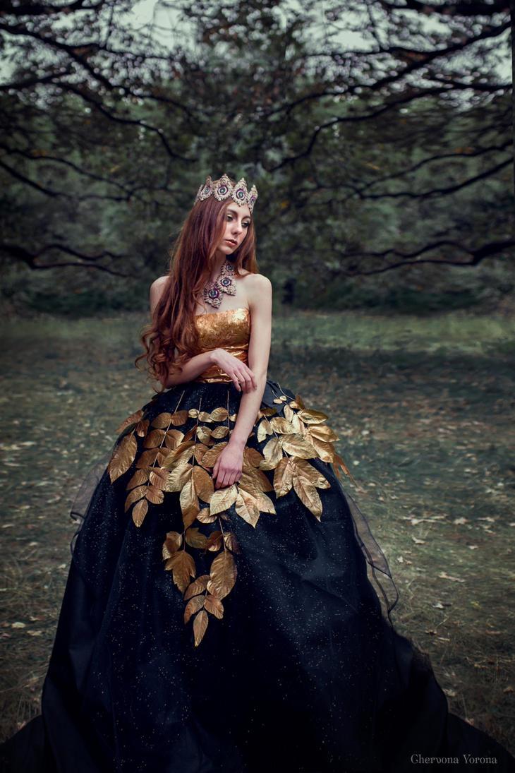 golden autumn by chervona