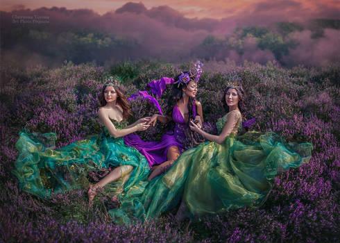 goddesses of heath valleys