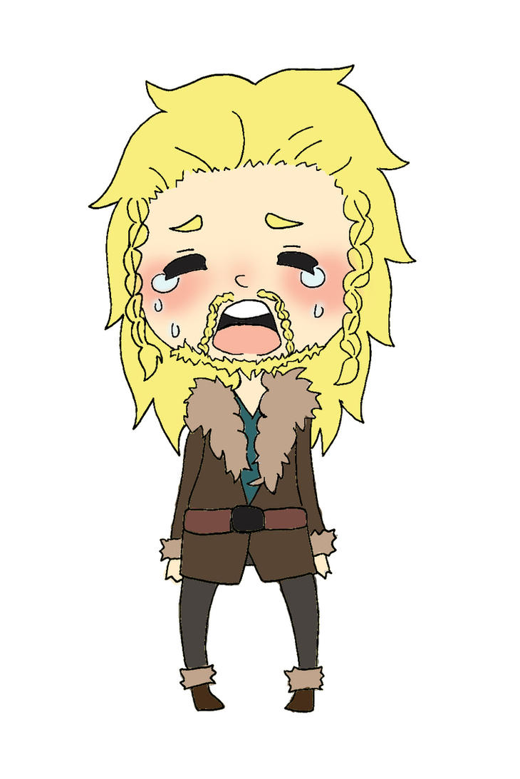 Fili Cry by sasu-the-vampire