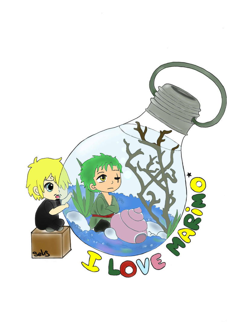 I love Marimo! by sasu-the-vampire