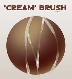 Cream Brush for Paint Tool SAI 2