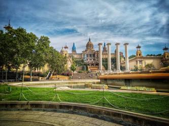 The National Art Museum Catalunya by Magic-diamond