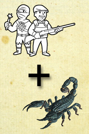 Goodsprings Scorpion Scramble cover by HUNKxTofu