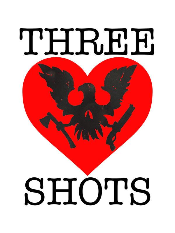 SkullHeart ('Three Shots') by HUNKxTofu