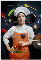 Neat Kitchen Universe. by saturninus