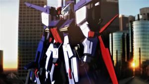 MMDxUC  MSZ-010 ZZ Gundam
