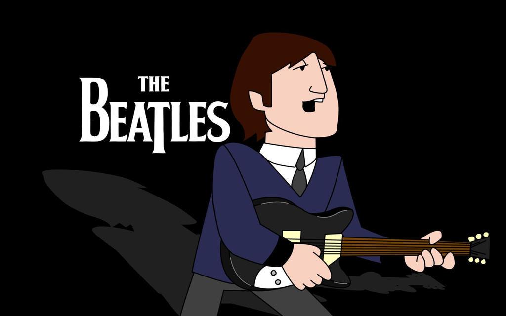 John Lennon Cartoon Beatles By Kailer35 On Deviantart