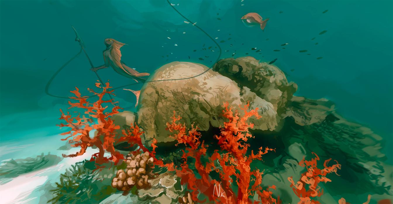 Coral reef [360 Panorama] by OrangeSavannah