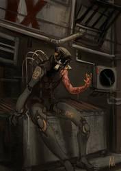 Body horror [Goretober 22] by OrangeSavannah