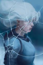 Broken Glass [Goretober 14] by OrangeSavannah
