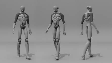 Robot 3D by OrangeSavannah