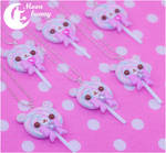 Lolipop bear Necklace by Moon Bunny