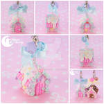 Candy house Charm (strawberry)