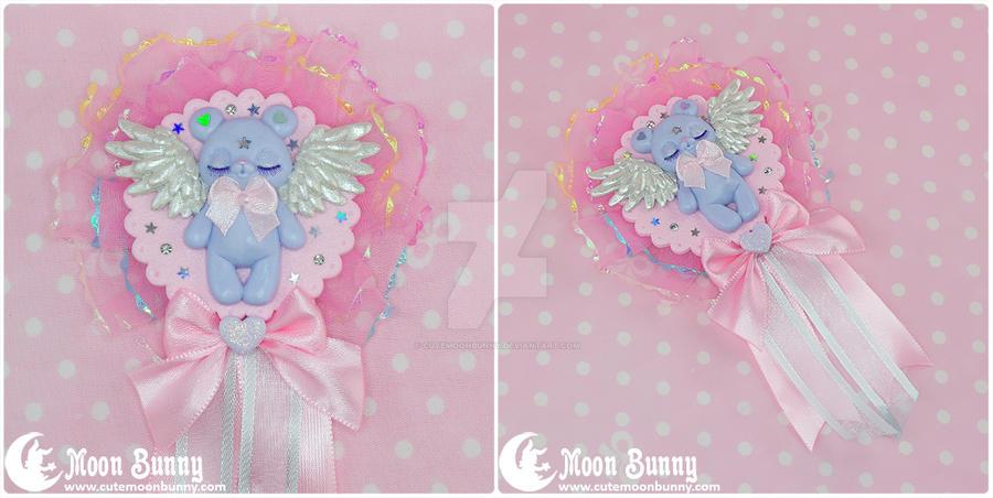Angel bear Rossette 2 by CuteMoonbunny