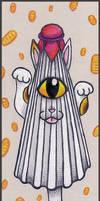 Karakasa Maneki Nyokai by crokittycats