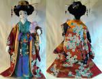 Art-Trade : Autumn Geisha OOAK Doll