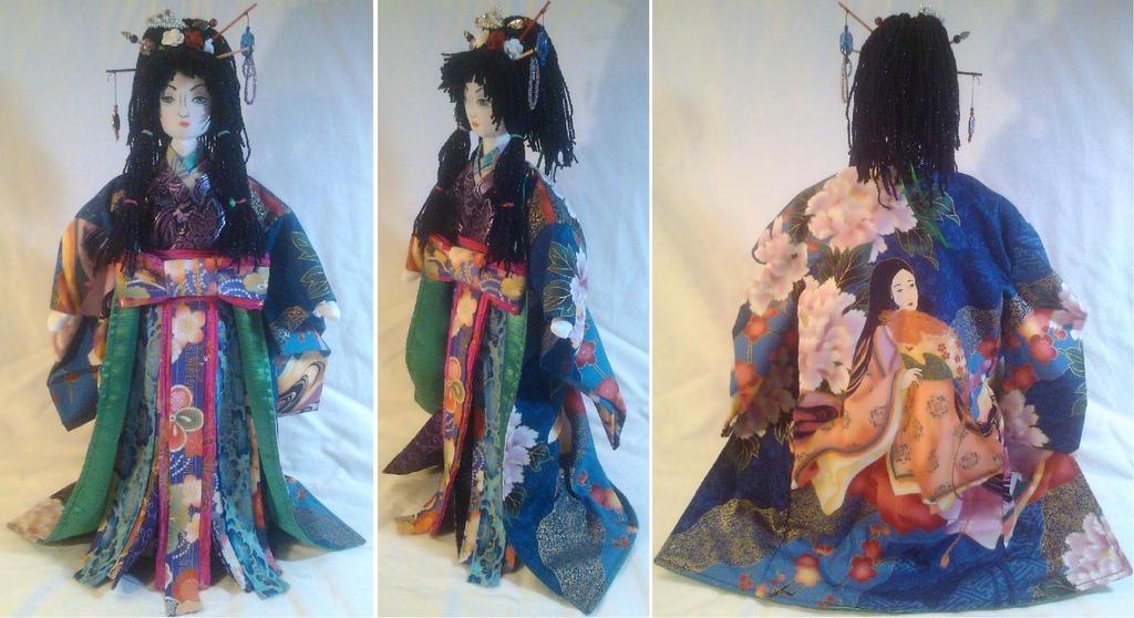 Gift: Springtime Geisha by mihijime