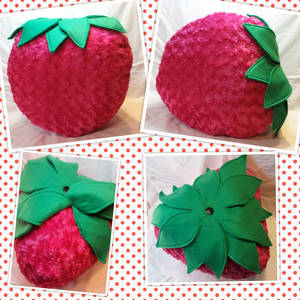 Art-Trade: Xtra Large Strawberry Pillow