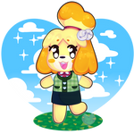 isabelle is on a roll