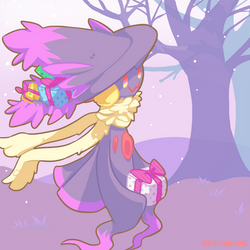 Day 9 - Mismagius by Cuney
