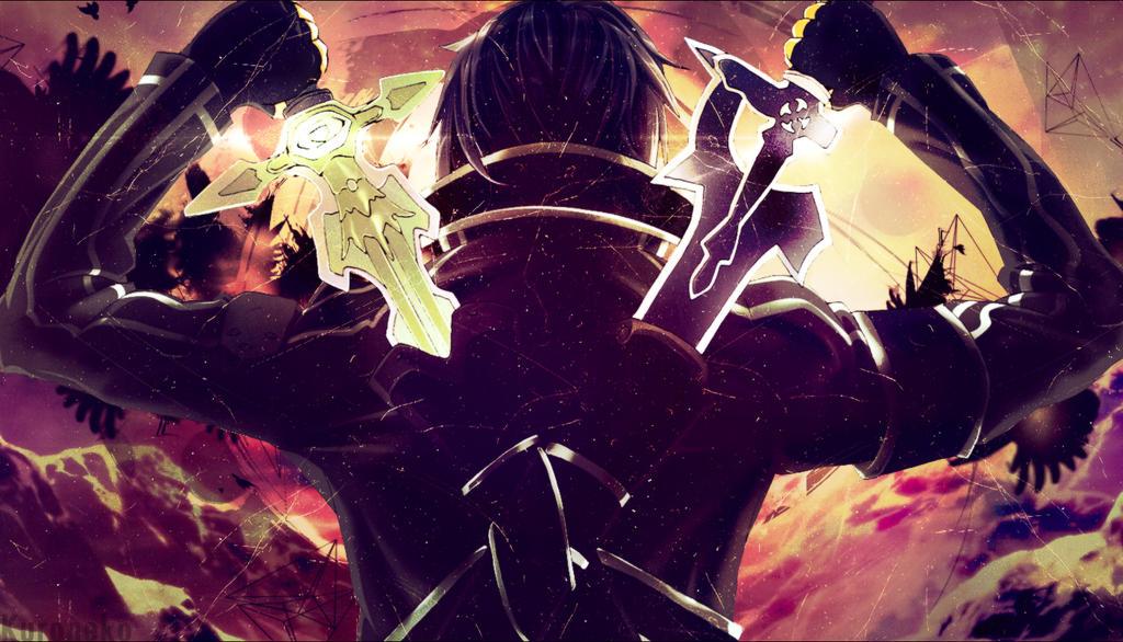 Wallpaper Sword Art Online Kirito By KuronekoYuuki