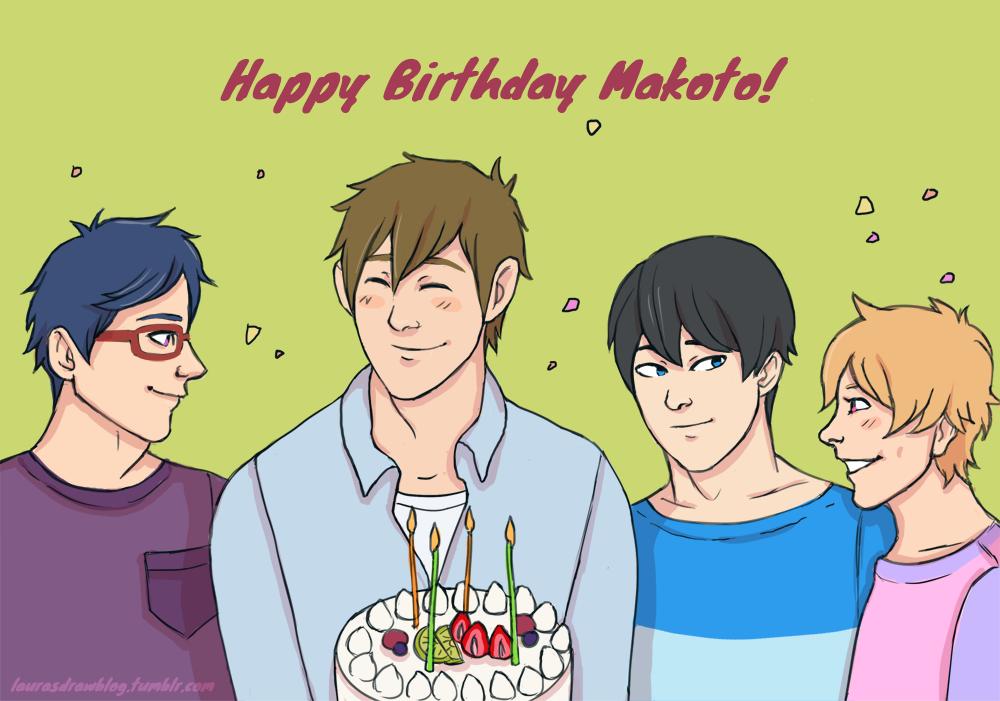 Happy Birthday Makoto! by laura-kristen