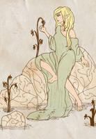 She-elf by birdofj