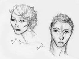 Billy and Joel by birdofj