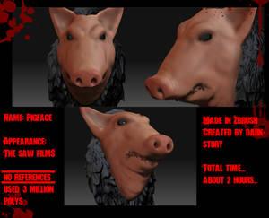 Pigface Zbrush 3D model