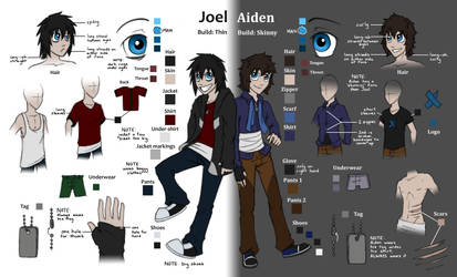 Jay + Aid Colour Sheet by AbnormallyNice