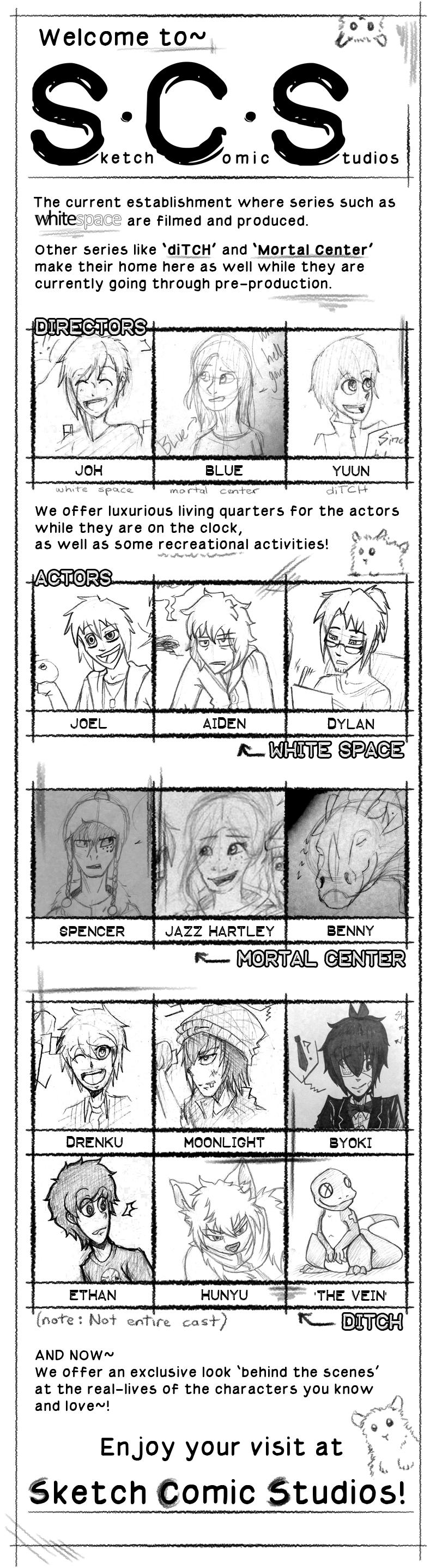 Sketch Comic Studios by AbnormallyNice