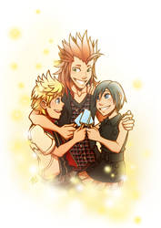 KH: Together at last by AbnormallyNice