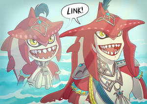 BotW: Sidon, Then and Now