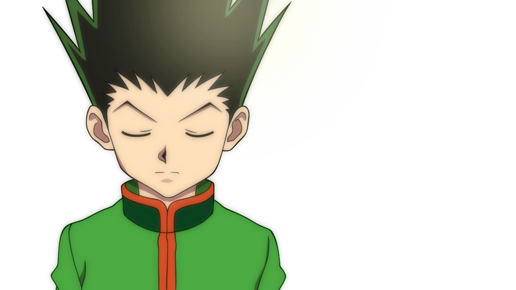 Line Art Anime : Gon freecss lineart colour by thebigedge on deviantart